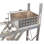 Escada Trepadeira Alumínio 7 Degraus TR202 Alulev