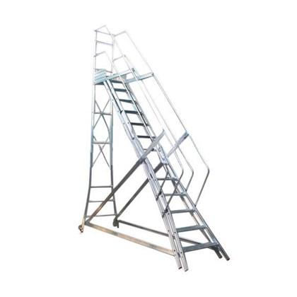 Escada Trepadeira Alumínio com Corrimão 12 Degraus TR302 Alulev