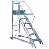 Escada Trepadeira de Alumínio com Corrimão 10 Degraus TR252 Alulev