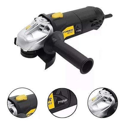 Esmerilhadeira angular 4.1/2  710w EM-710 Hammer