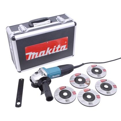 "Esmerilhadeira Angular 4.1/2"" 720w GA4534KX Makita"