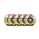 """Esmerilhadeira angular 4.1/2"""" à bateria 18V com 5 discos sem bateria DGA455ZX2 Makita"""