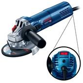 """Esmerilhadeira Angular 5"""" 900w Controle Rotação GWS 9-125S Bosch"""