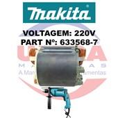 Estator Para Furadeira de impacto 220V HP1640 e HP1641 Ref. 633568-7 Makita