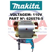 Estator Para Martelete HR2470 110v Ref. 626576-5 Makita