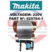Estator Para Martelo Rompedor 220V HM0870C Ref. 625764-1 Makita