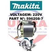 Estator Para Serra Circular 220V 5902B Ref. 596208-7 Makita