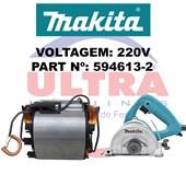Estator Para Serra Mármore 220V 4100NH3 Ref. 594613-2 Makita