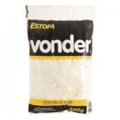 Estopa branca para polimento com 200g - Vonder