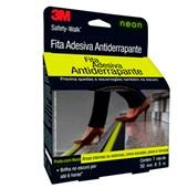 Fita Antiderrapante Neon Safety Walk 50mmx5m 3M