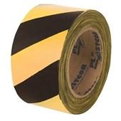 Fita Zebrada Preto/Amarelo 200m 700.00082 Plastcor