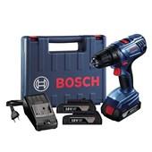 Furadeira e Parafusadeira à Bateria 18V Bivolt 2 Baterias GSR 180 LI Bosch