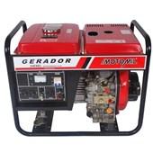 Gerador a Diesel 4T 3600w MDG 3600CL Mono Motomil