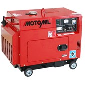 Gerador a Diesel 4T 5000w MDGT 5000ATS Trifásico Motomil