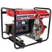 Gerador a Diesel 4T 5000w MDGT 5000CLE Trifásico Motomil