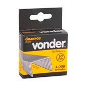 Grampo Reto de 10mm com 1000 Peças Vonder