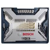 Jogo de Acessórios 100 peças X-Line Bosch