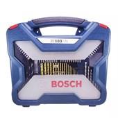 Jogo de Acessórios 103 peças X-Line Titânio Bosch