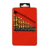 Jogo de Broca 1,50 A 6,50MM Em Aço Rápido Com 13 Peças MTX