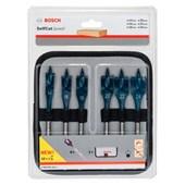 Jogo de Brocas Chata Self Cut para Madeira 14 a 24mm Bosch