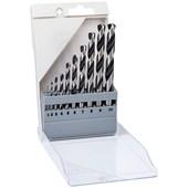 Jogo de Brocas Para metal 1 a 10mm com 10  peças HSS POINTTEQ 2608577348 Bosch