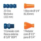 """Jogo Especial Fixoflex 1-AK 1/4"""" Completo AU1A Tapmatic"""