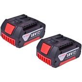 Kit 2 Baterias e 1 Carregador 18v  GBA 18V - AL 1814 Bosch