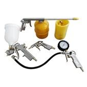 Kit de Acessórios para Compressor de Ar com 5 Peças KCA5P Tekna