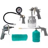Kit de Acessórios Para Compressor De Ar Com Pistola 5730255 Mtx