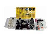 Kit de Acessórios para Micro Retifica com 350 Peças ARV350 Vonder