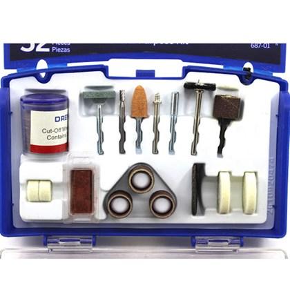 Kit de Acessórios para Uso Geral com 52 Peças Dremel