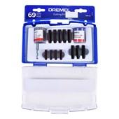 Kit de Corte para Micro Retífica 688-01 com 69 Peças Dremel