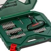 Kit Jogo de pontas e brocas X-Line 54 Peças 2607010610 Bosch