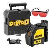 Kit Nível A Laser Automático Vermelho C/ Maleta e Óculos Foxter 15M DW088K Dewalt