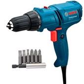 Kit Parafusadeira Furadeira 400w 110v GSR714E Bosch +Brinde