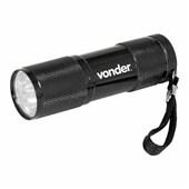 Lanterna Chaveiro em Alumínio 9 Leds LLV 0009 Vonder