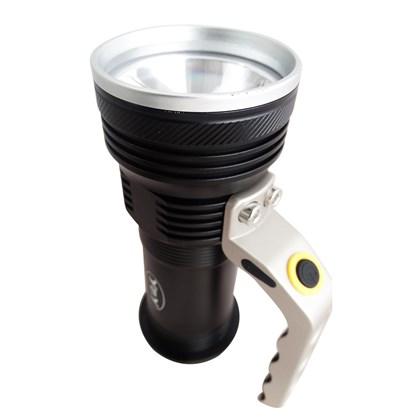 Lanterna Tática Led Recarregável 3 Funções 800 Lumens Eco-Lux