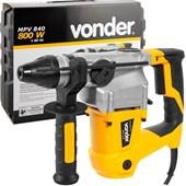 Martelete Perfurador e Rompedor 840 watts  SDS Plus - MPV840