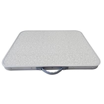 Mesa Dobrável Alumínio 60 x 45cm Vira Maleta Palisad