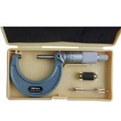 Micrômetro Ext Arco Esmaltado 25-50mm c/ Catraca Mitutoyo