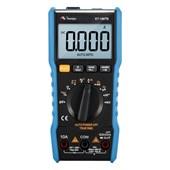 Multímetro Digital CAT III 600V True RMS AC ET-1507B Minipa