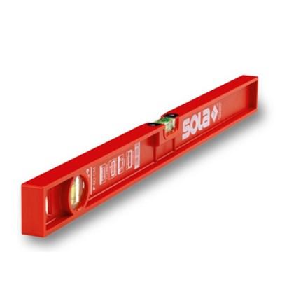 Níveis de Bolha de Plástico P 80cm - Sola