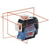Nível à Laser 3 Linhas com Tripé GLL 3-80C BOSCH