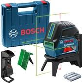 Nível a Laser de linhas verdes 15 metros com pontos Bosch GCL 2-15 G em Maleta