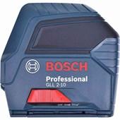 Nível a Laser Profissional GLL 2-10 Bosch