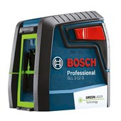Nível A Laser Verde 2 Linhas 12 Mts Gll2-12g Original Bosch