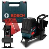 Nível Laser de Linhas GCL 2-15 Profissional c/ Gancho e Maleta Bosch