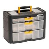 Organizador Plástico com 3 gavetas OPV 0400 Vonder