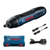 Parafusadeira a Bateria Bosch Go 3,6V BIVOLT com 2 Bits e 1 cabo USB
