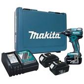 "Parafusadeira de Impacto 1/4"" a Bateria 18v DTD129 Bivolt Makita"